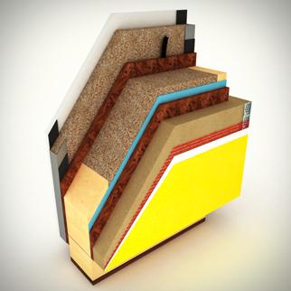 Casa in legno studio carturan for Case tradizionali italiane