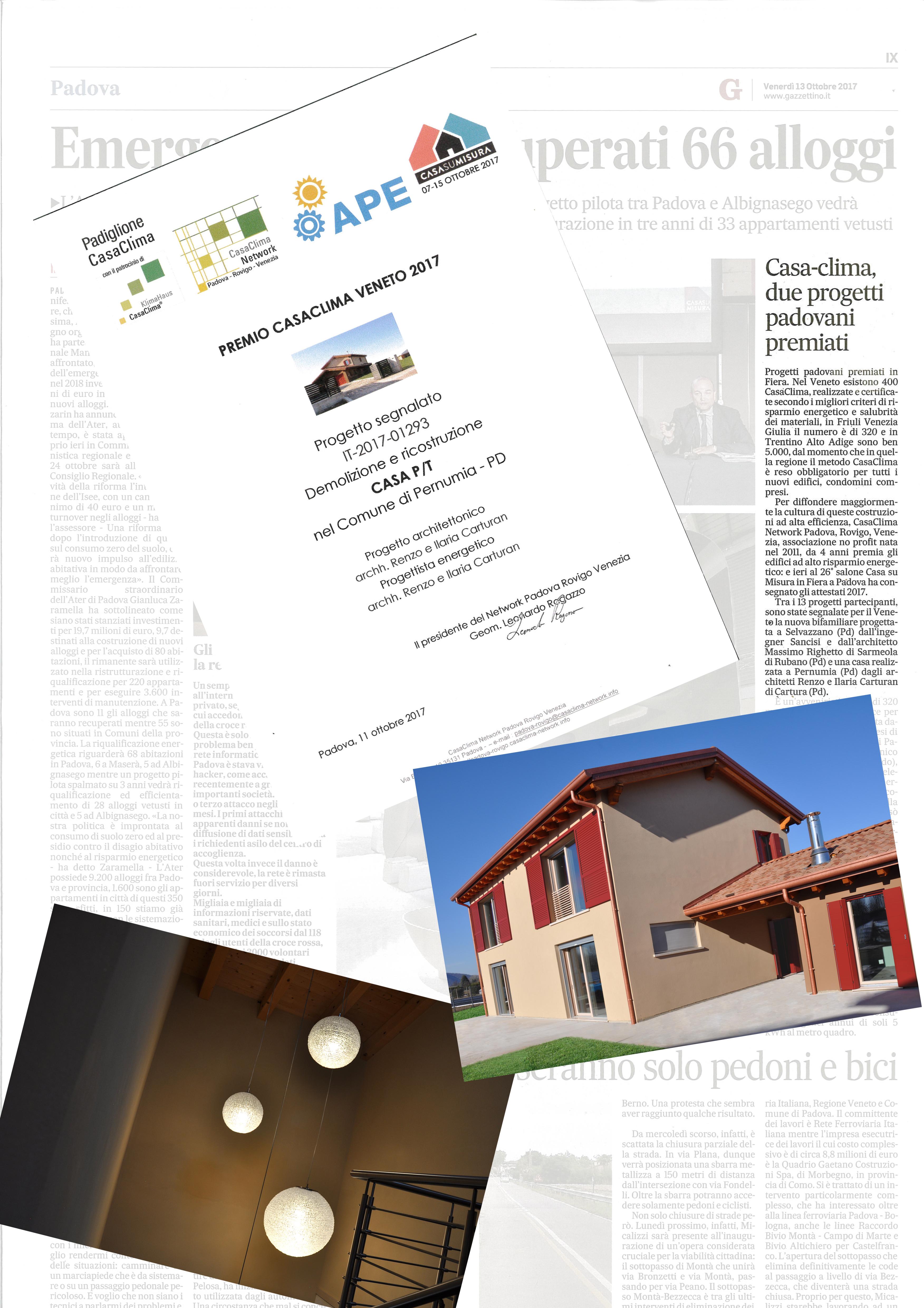 Premio casaclima 2017 studio carturan studio carturan for Casaclima 2017